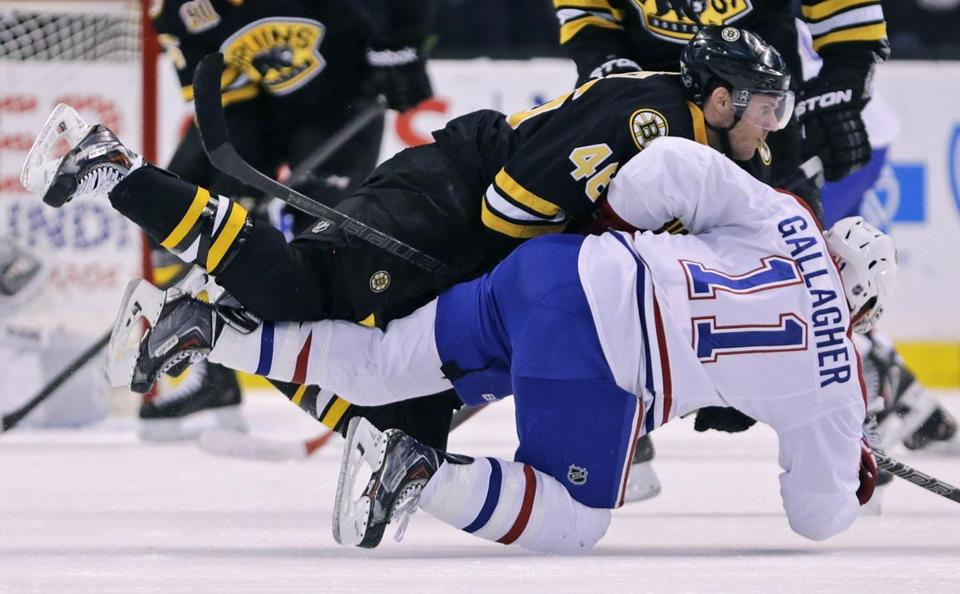 The Canadiens won three of four regular-season matchups with the Bruins this season.
