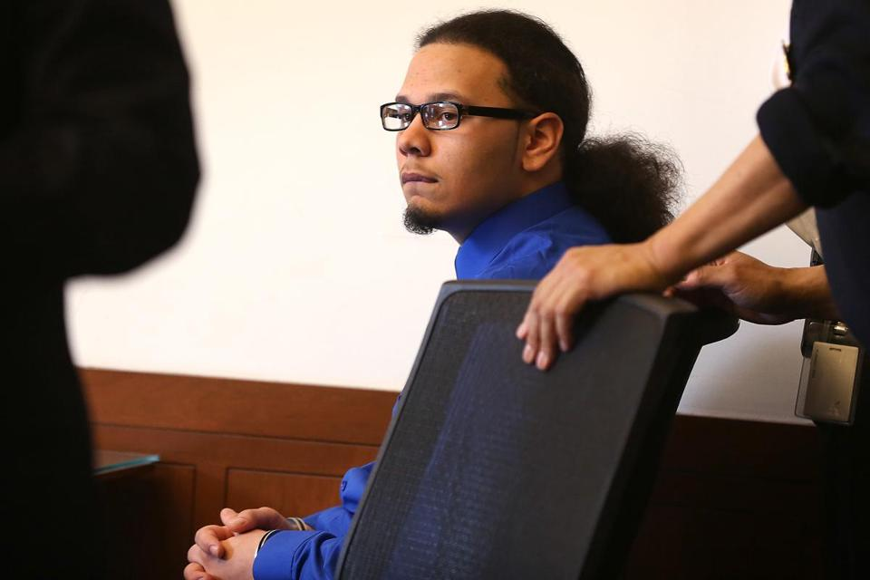 Juanly Pena, 14, was arraigned in Boston Juvenile Court on Monday.