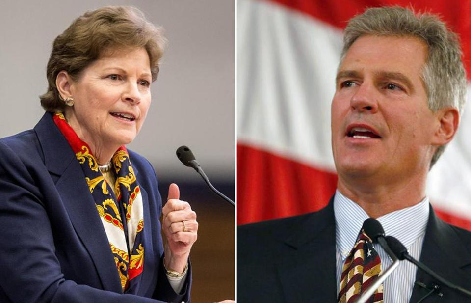 Over three years serving together in Congress, Shaheen and Brown never argued, true, but they also almost never agreed.