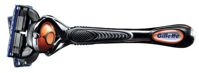 The new Gillette Fusion ProGlide Flexball razor, to be available in stores June 9.