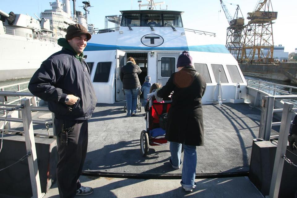 In 2008, passengers could board ferries from Quincy 363 days a year. The service was halted in October 2013.