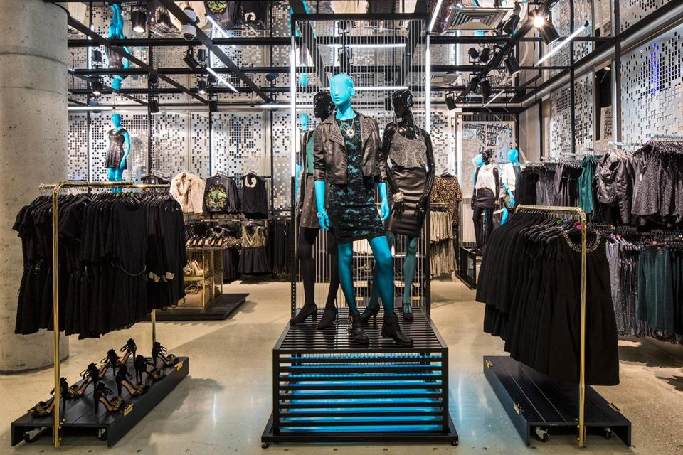 The women's department at the Primark store in Dusseldorf, Germany.