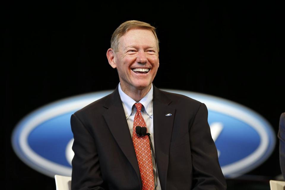 Ford Motor Company President and CEO Alan Mulally.