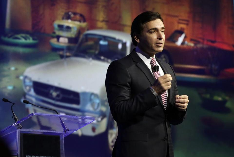 Ford has named Mark Fields the new chief executive of the company.