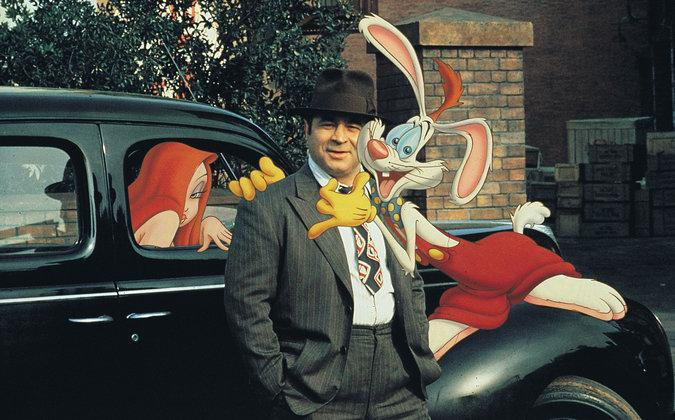 "Mr. Hoskins was cast as the pulp-fictional, cartoon-hating detective Eddie Valiant in ""Who Framed Roger Rabbit."""