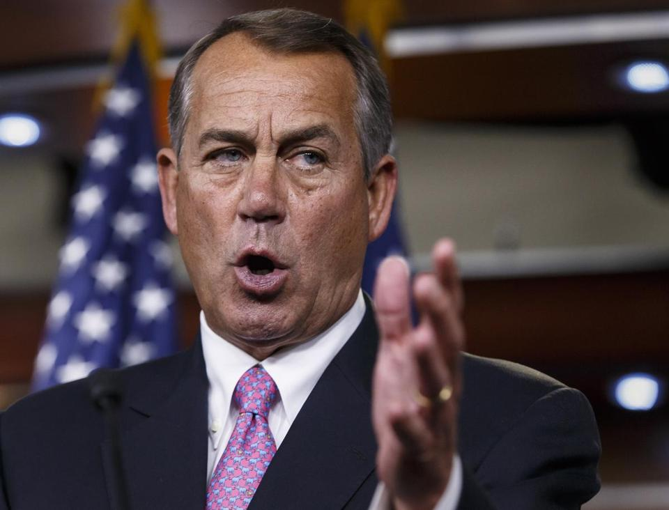 """These revelations compel the House to take every possible action to ensure the American people have the truth,"" Speaker John Boehner said."