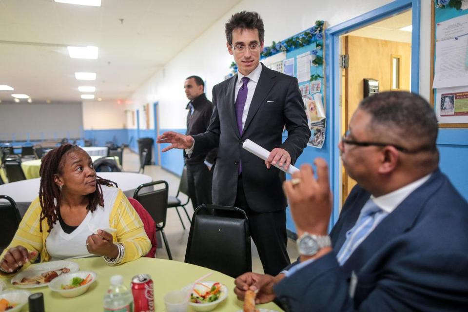 Falchuk became disheartened during the 2012 election cycle, a time when, he said, politicians and candidates spoke in substance-free sound bites.