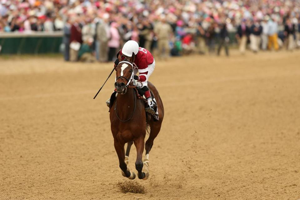 Rosie Napravnik won the Kentucky Oaks for a second time after guiding Untapable to a 4½-length victory over My Miss Sophia on Friday.