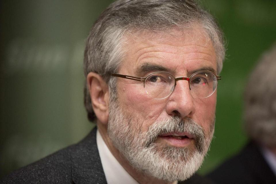 Gerry Adams, leader of the Sinn Fein party, was released without charge Sunday after five days of police questioning in a 1972 IRA killing.