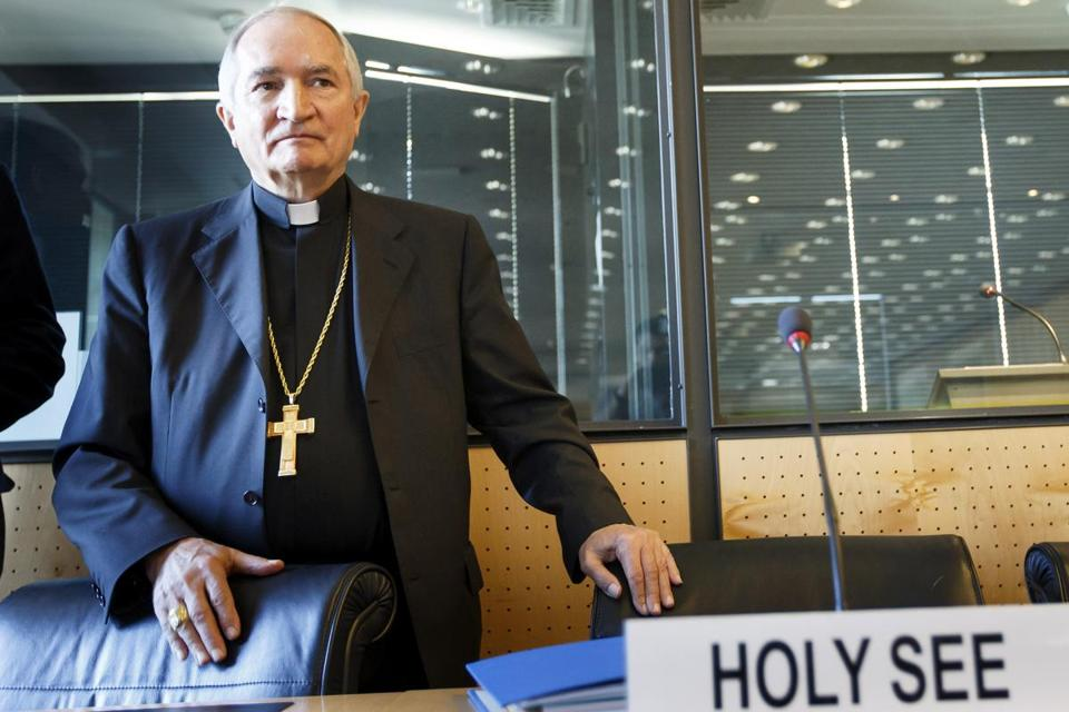 Archbishop Silvano Tomasi, the Vatican's envoy to the United Nations in Geneva.
