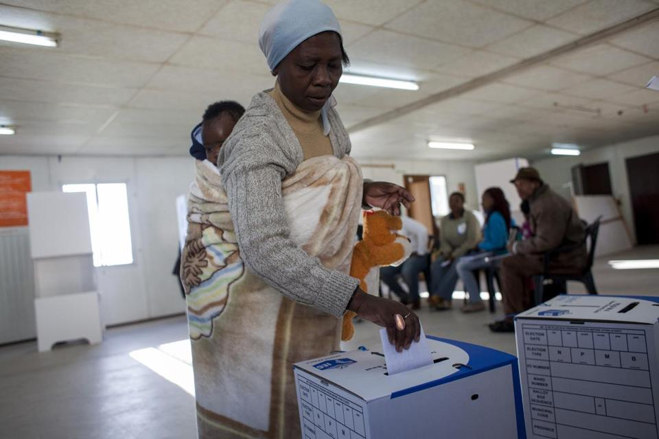 Wednesday's election was the fifth in a democratic South Africa, and the first for the generation born after 1994.