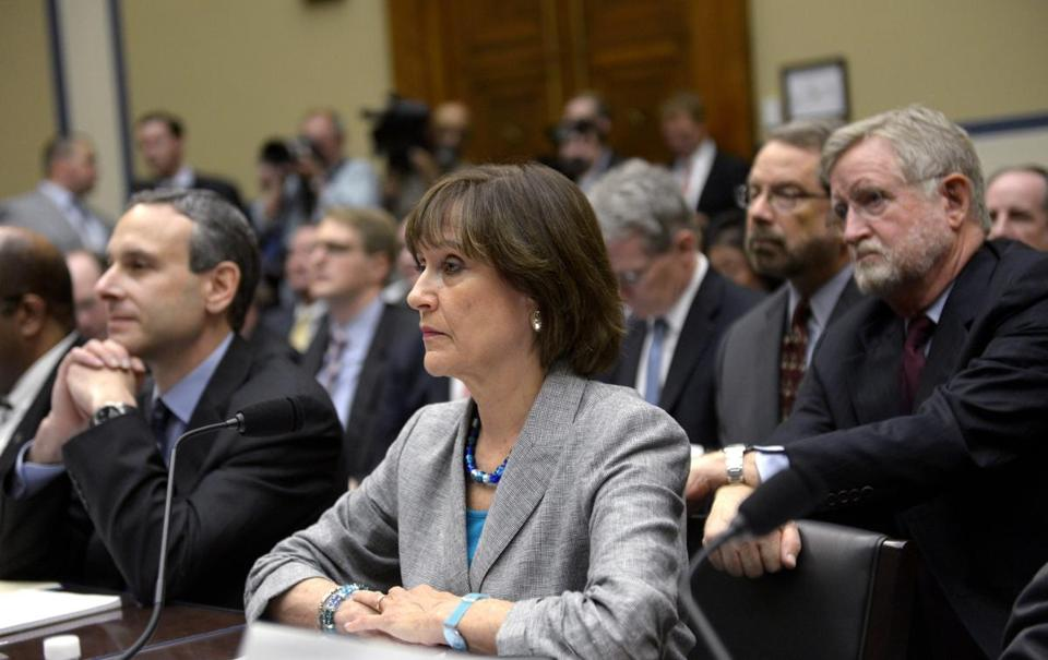 Lois Lerner appeared before the House Oversight and Reform Committee on May 22, 2013, when she refused to answer quuestions after an opening statement.