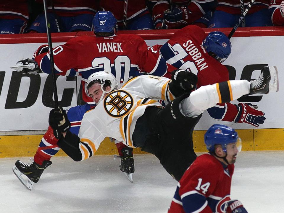 Canadiens Put Bruins In Big Hole