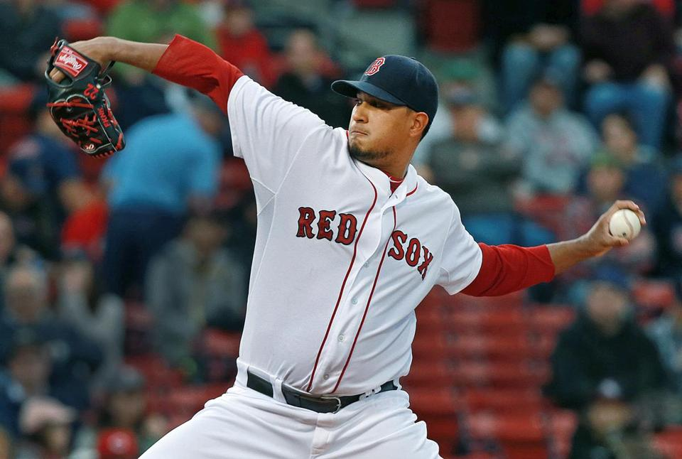 The Red Sox were waiting for Felix Doubront to smooth out, and Tuesday night he did just that.