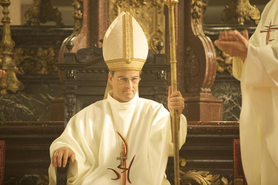 "Laurent Lucas stars in ""The Jewish Cardinal."""