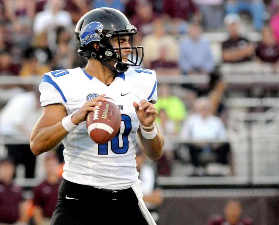 Could Jimmy Garoppolo, who starred in college at Eastern Illinois, be the Patriots' next starting quarterback?
