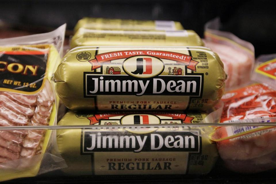 Hillshire Brands' roster of brands include Jimmy Dean meats, Ball Park hot dogs, and Sara Lee frozen bakery goods. The combined company will use the Hillshire Brands name and be based in Chicago.