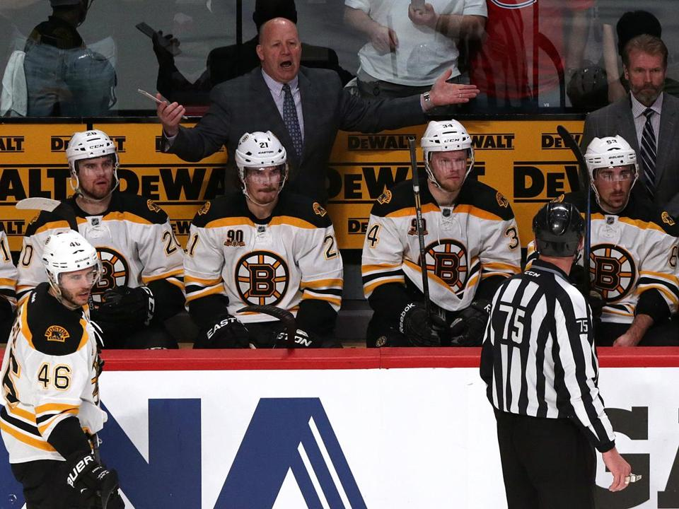 Claude Julien was left with many questions after the Bruins' loss in Game 6.