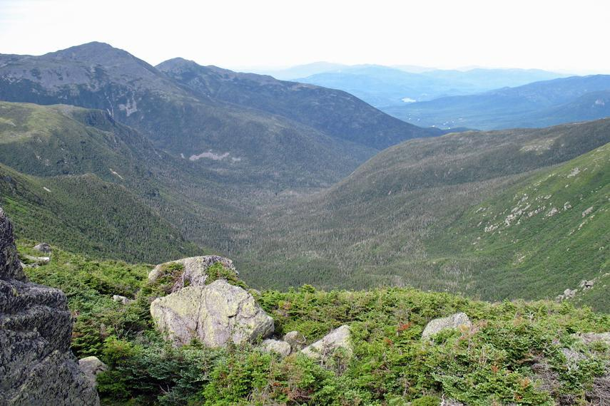 Visitors to the Great Gulf Wilderness have sweeping mountain views.