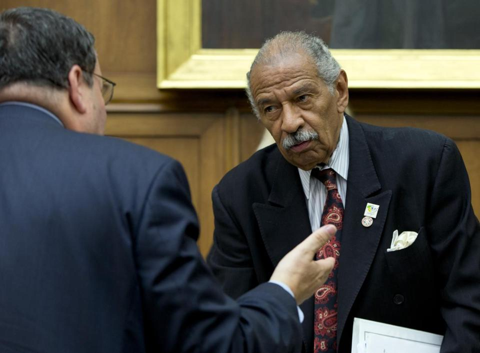 Michigan Representative John Conyers, serving his 25th term, was disqualified from the Democratic primary ballot.