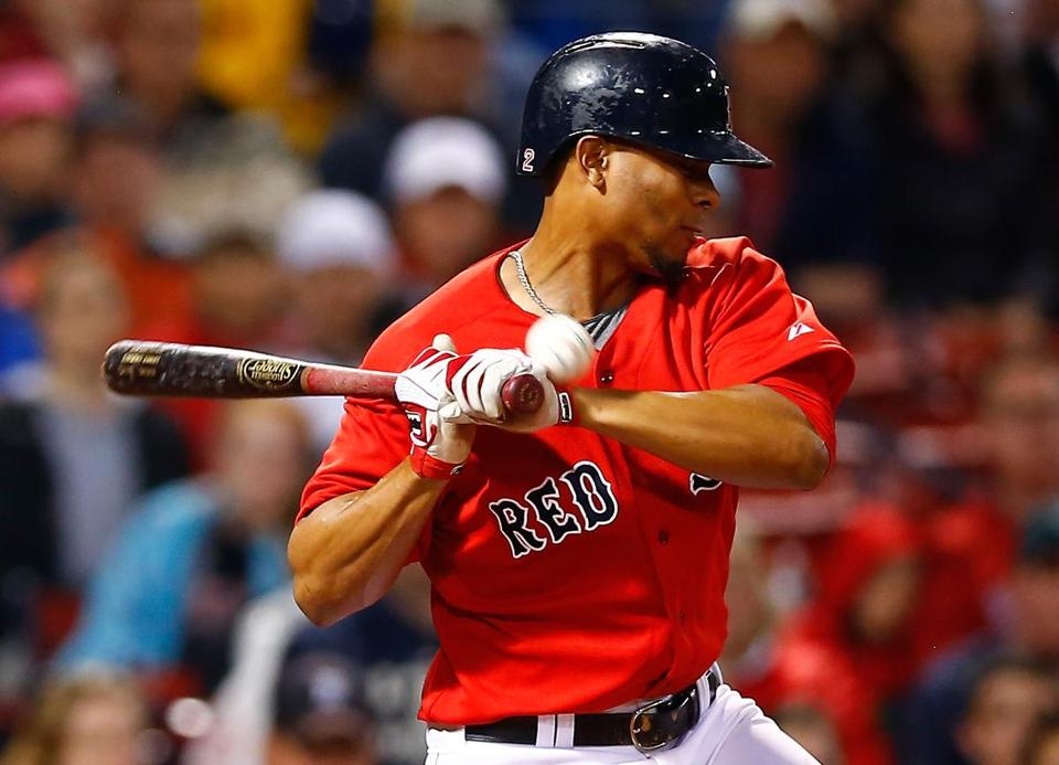 Xander Bogaerts and the Red Sox are looking for more offensive spark.