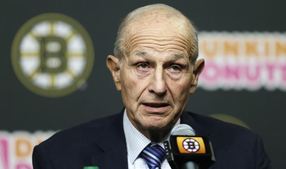Bruins owner Jeremy Jacobs spoke about the team's recent season on Tuesday.
