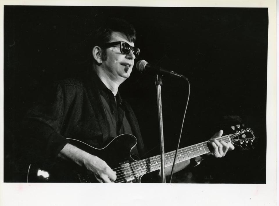 Roy Orbison performing at the Channel in Boston in 1988.