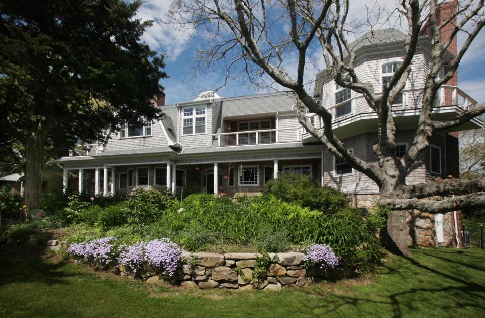 This house in Falmouth is listed at $5.49 million. On Cape Cod, the average time on market is 170 days, versus just 82 in Greater Boston.