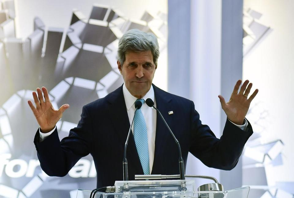 US Secretary of State John Kerry.