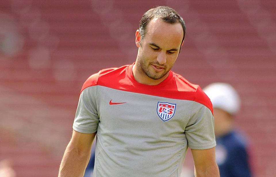 Landon Donovan was cut from the US soccer roster.