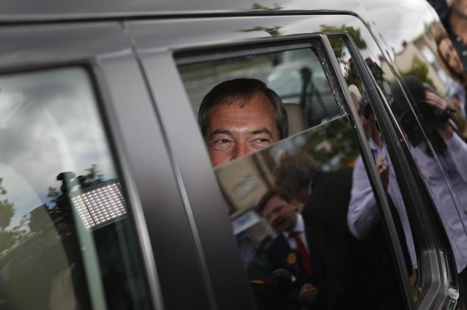 "UK Independence Party leader Nigel Farage said the party is now ""a serious player."""