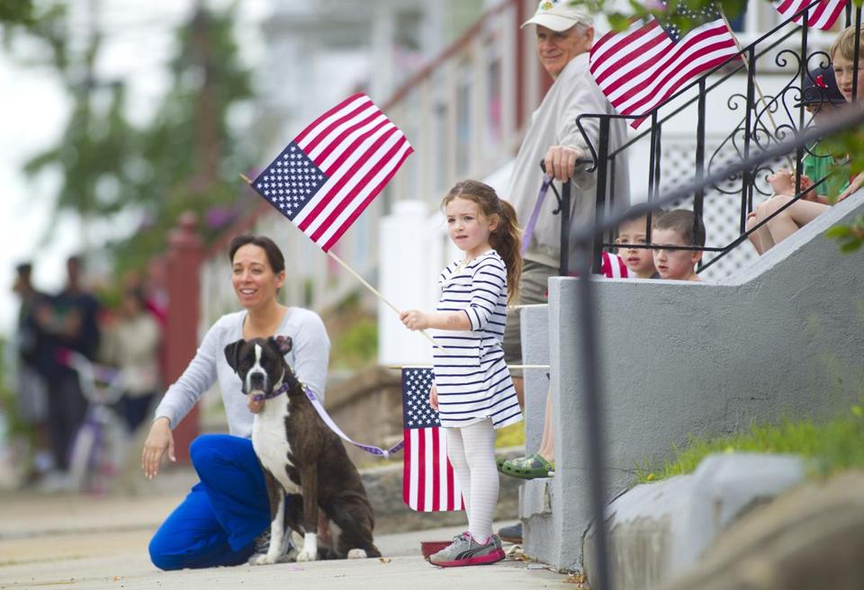 Marianna LaMonica, 5, enjoyed the Cedar Grove Memorial Day Parade with her family.