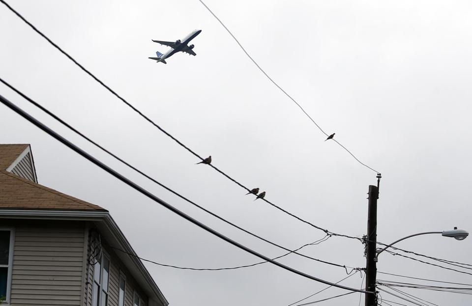 Winthrop, a town under a flight path to Logan Airport, is one of 17 communities cited in a Health Department report.