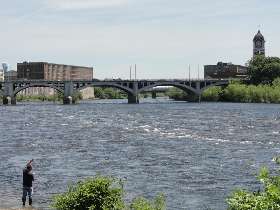Sewage flowed into the Merrimack River for 13 hours.