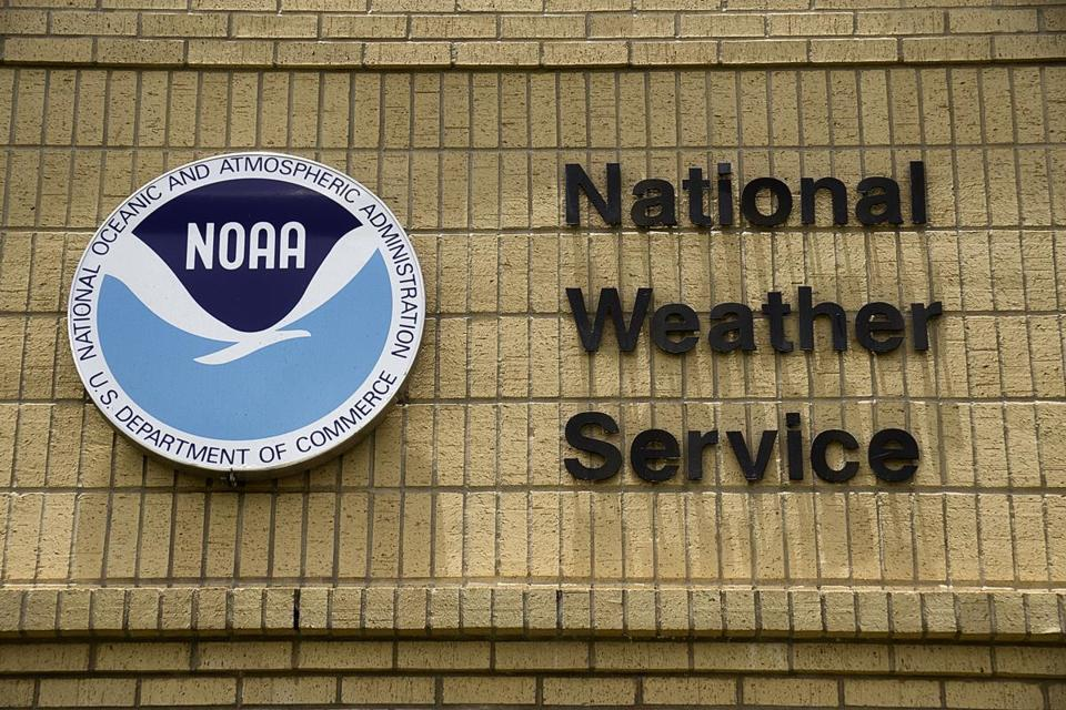 The severe weather alert from the National Weather Service on Tuesday night warned people to watch for flash flooding until 12:30 a.m.