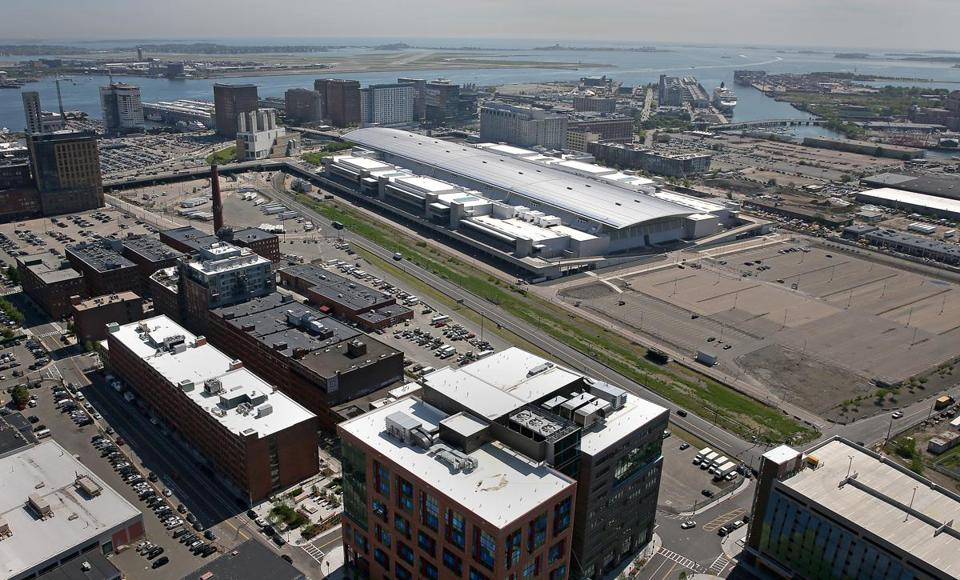 The convention center authority controls about 30 undeveloped acres in South Boston.