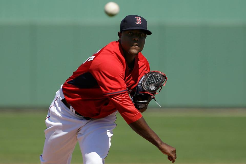 It will be Rubby De La Rosa's first start in the majors since July 31, 2011, with the Dodgers.