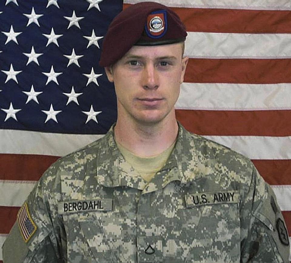 US Army Sgt. Bowe Berghdal.