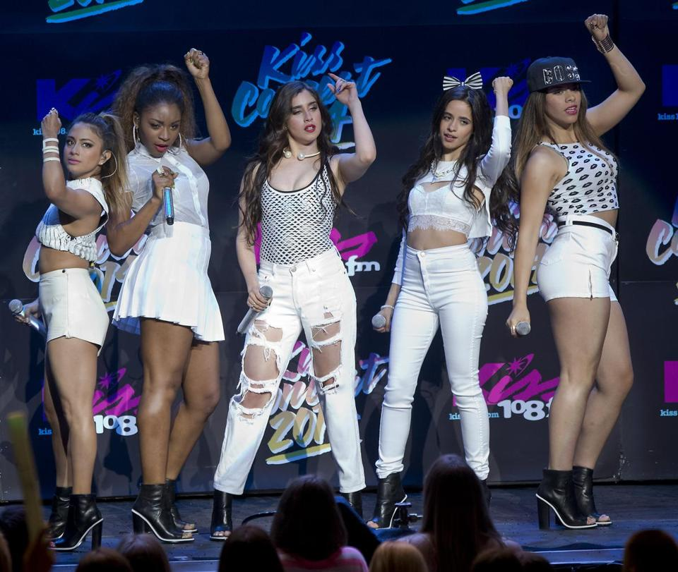 Fifth Harmony plays hit songs to full houses on tour