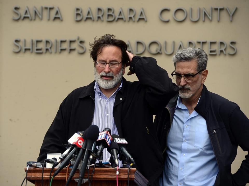 Richard Martinez lost his son, Christopher.
