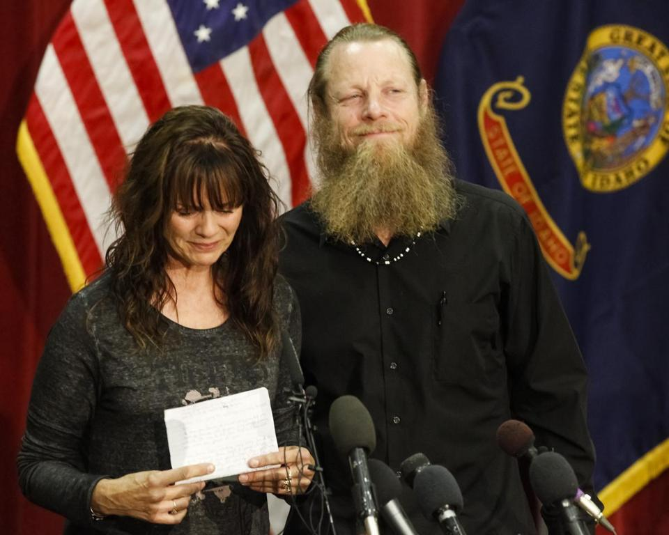 Jani and Bob Bergdahl spoke to the media during a news conference in Boise, Idaho, on Sunday regarding their son, Army Sgt. Bowe Bergdahl.
