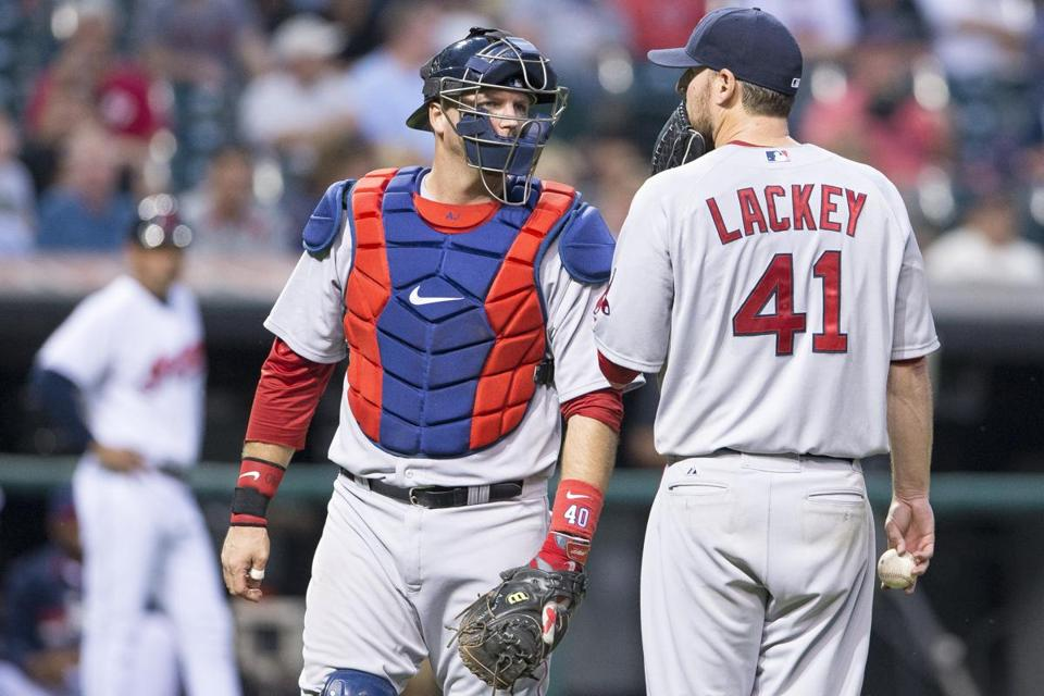John Lackey went the distance in the loss at Cleveland on Monday.