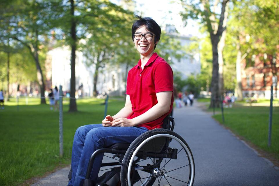 Kunho Kim will travel to Los Angeles in an accessible van.