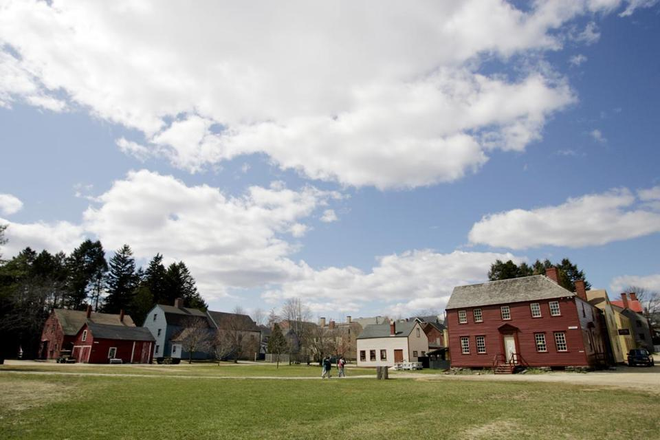 A view of Strawbery Banke Museum.