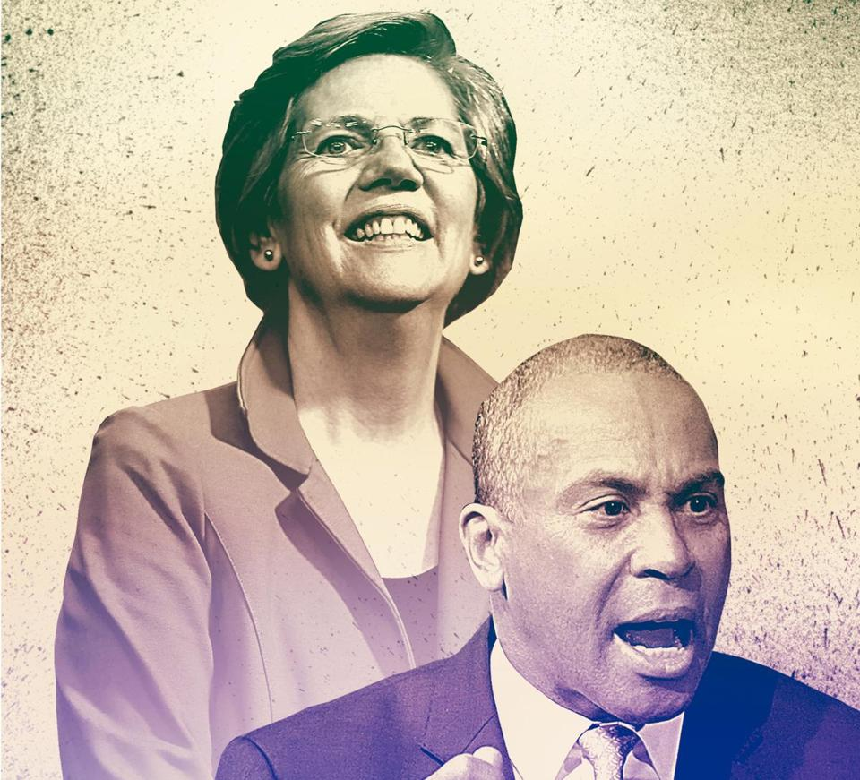 Elizabeth Warren and Deval Patrick have foresworn interest in the looming presidential campaign.