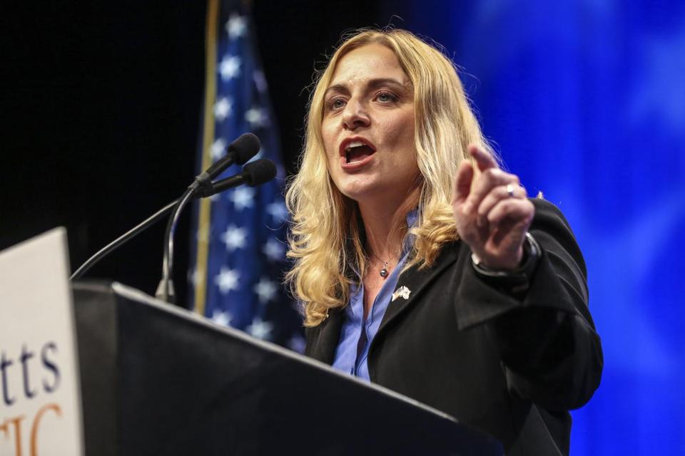 Marisa DeFranco spoke at the state party convention in 2012.