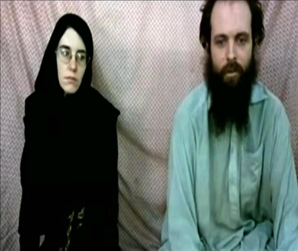 The video of Caitlan Coleman and Joshua Boyle was sent to her parents last year. Their families decided to release it in light of publicity from the case of a US soldier.
