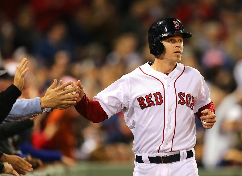 Brock Holt has 11 extra-base hits and 13 RBIs in 25 games for the Red Sox this season.