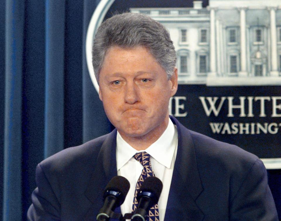 The National Archives released 2,000 pages of documents from Bill Clinton's administration on Friday.