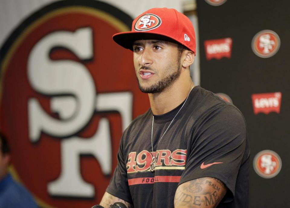 Colin Kaepernick is guarantees $12.973 million in his new deal.